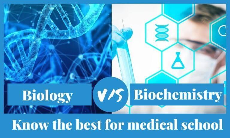 Biology vs Biochemistry