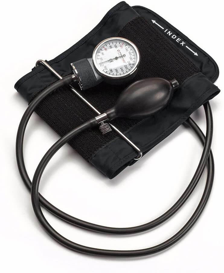 Aneroid Sphygmomanometer with Durable Carrying Case