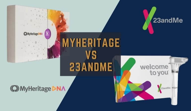 MyHeritage VS 23andMe