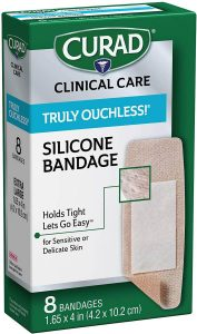 Curad Silicone Bandages