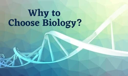 Why to Choose Biology